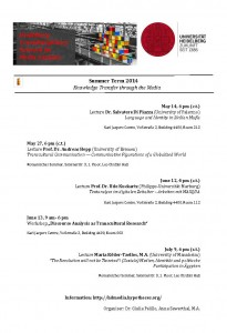 Media Network_Summer Term 2014